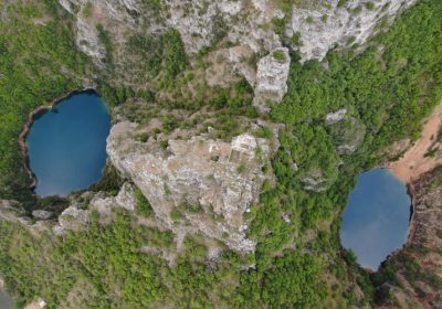 VODIME_ Mamića i Knezovića jezera, The lakes of Mamići and Knezovići, natural beauty near Imotski