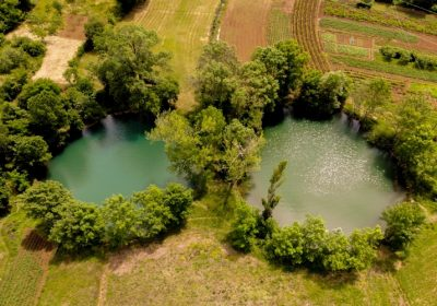 VODIME_Dva oka-izvori rijeke Vrljike-The 'two eyes', river Vrljika sources