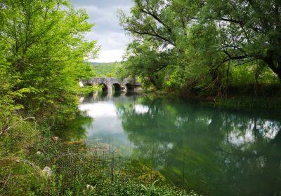 VODIME_Most Brvina na Vrljici u Runovićima-Brvina bridge on Vrljica river