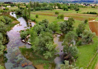 VODIME_Opačac, najizdašniji izvor rijeke Vrlike-the most amazing source of Vrljika river